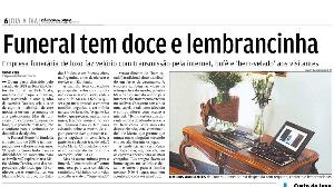 Jornal Diário de São Paulo: Funeral tem Doce e Lembrancinha
