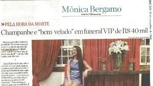 Jornal Folha de São Paulo: Champagne e